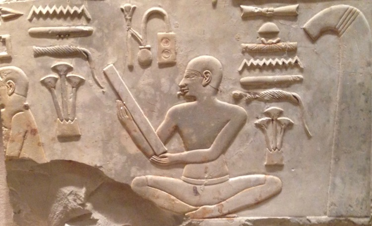 Archaizing scribe from the tomb of Montuemhat